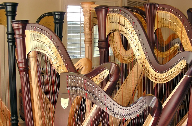 Harp lessons in Richmond