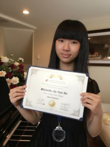 15-yrs old pianist gets Silver Medal at the International Competition!