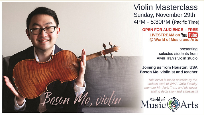Boson Mo at World of Music And Arts